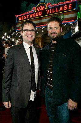 Rainn Wilson and David Denman at the Westwood premiere of Fox Searchlight's Juno