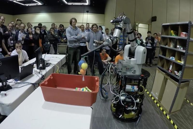 Amazon's robot competition shows why human warehouse jobs are safe for now