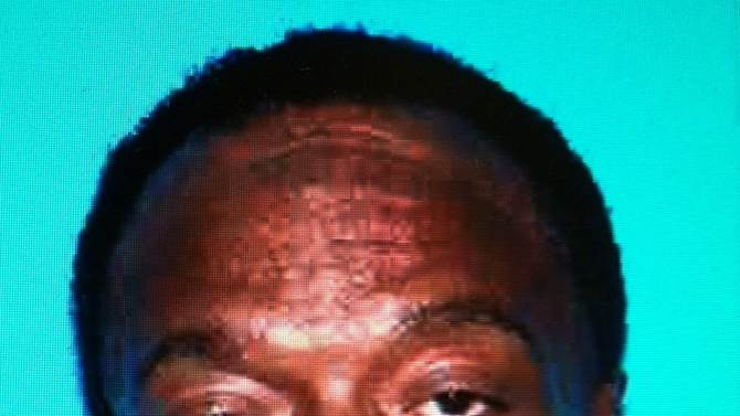 This photo provided by the Inglewood (Calif.) Police Dept. shows Desmond John Moses. Police say Moses, a masked gunman who set fire to his home before shooting five members of a Southern California family was in a dispute with the victims, Saturday, Oct. 20, 2012. Inglewood Police Chief Mark Fronterotta said a manhunt continues for 55-year-old Desmond John Moses after early Saturday's shooting rampage, which left a father and his 4-year-old son dead and three others wounded. (AP Photo/ Inglewood (Calif.) Police Dept.)