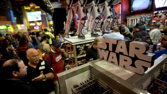 Star Wars powers Hasbro's strongest growth in nearly 5 years