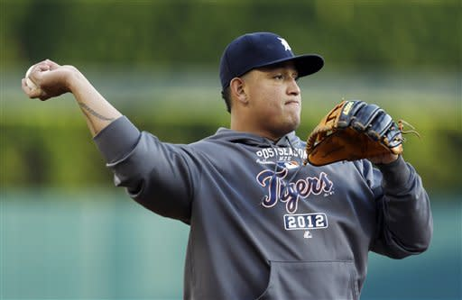 Tigers lead Yankees 2-0 after 6 innings in ALCS