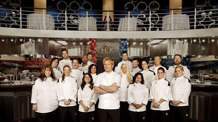 "Chef Gordon Ramsay ushers in the series red-hot 9th season of ""Hell's Kitchen."""