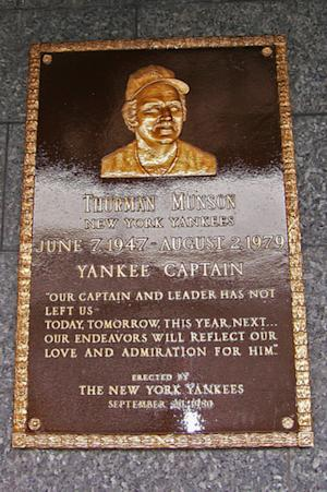 The New York Yankee I'd Bring Back? Thurman Munson is the Easy Choice