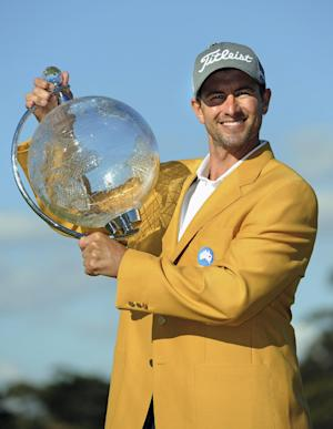 Adam Scott hangs on to win Australian Masters