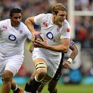 England believe that debutant Joe Launchbury can develop into their 'enforcer'