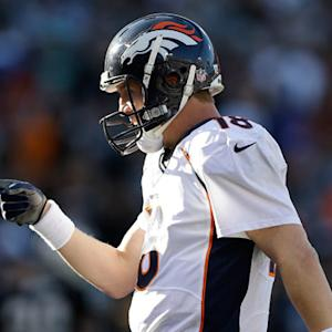 Does Denver Broncos quarterback Peyton Manning have a chance to throw 50 touchdowns again?