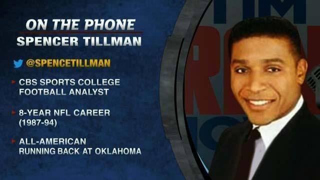 Spencer Tillman talks Oklahoma football