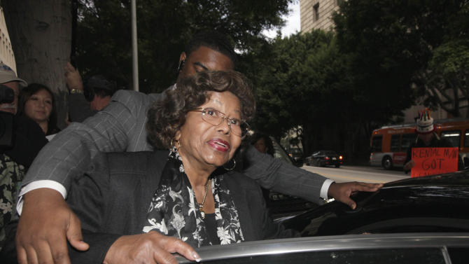 FILE - In this Jan. 6, 2011 file photo, Katherine Jackson, Michael Jackson's mother, leaves court after a hearing for Jackson's doctor, Conrad Murray, in Los Angeles. Jackson on Tuesday, July 31, 2012 announced she will spend what would have been her son Michael's 54th birthday in the family's hometown of Gary, Ind., which is planning a candlelight vigil, concert and other events to honor the pop superstar and his mother. (AP Photo/Nick Ut, File)