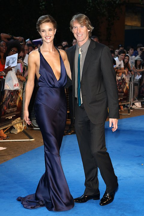 Transformers Dark of the Moon Premiere 2011 Rosie Huntington Whiteley Michael Bay