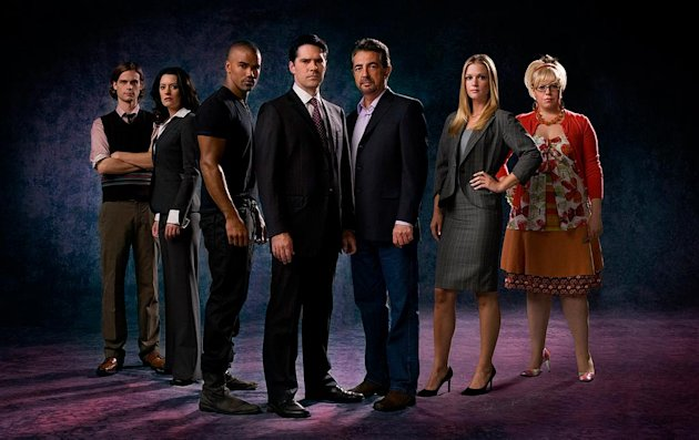"The cast of ""Criminal Minds."""