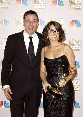 Jimmy Fallon and Tina Fey Emmy Awards - 9/22/2002