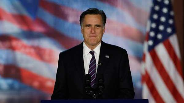 Mitt Romney concedes presidential race