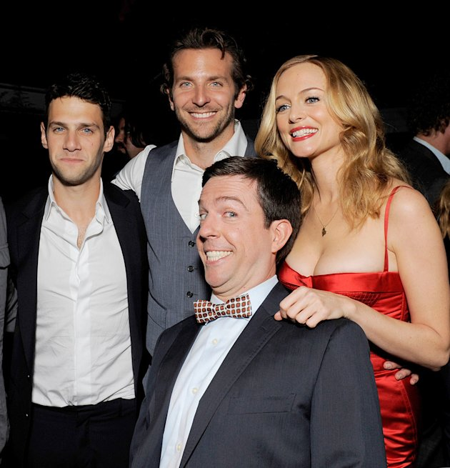The Hangover LA Premiere 2009 Justin Bartha Bradley Cooper Heather Graham Ed Helms