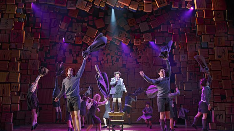 Critics' Circle names 'Matilda' top musical