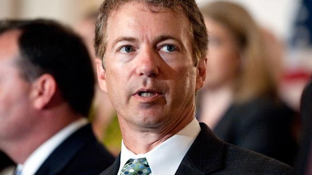 Rand Paul in Pat-Down Standoff With TSA in Nashville (ABC News)