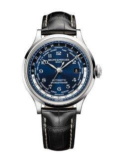 Baume & Mercier Introduces Its First Limited Edition Worldtimer Watch Exclusively For Tourneau