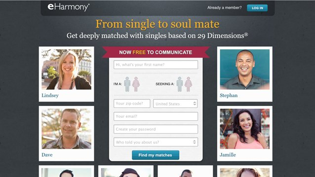 E-Harmony Targets Job Hunters