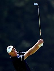 Jim Furyk hits his second shot on the ninth hole during the Deutsche Bank Championship on September 1. US Ryder Cup captain Davis Love named Steve Stricker, Furyk, Dustin Johnson and Brandt Snedeker as his captain's wildcard picks for the American Ryder Cup team