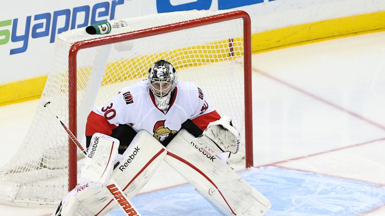NHL: Ottawa Senators at New York Islanders