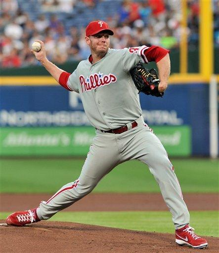 Late homers boost Phillies over Braves 8-5 in 10