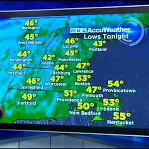 WBZ AccuWeather Afternoon Forecast For Sept. 17