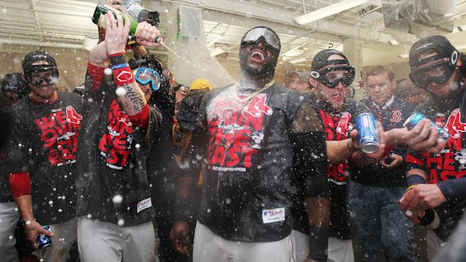 Red Sox clinch AL East title, beat Blue Jays 6-3