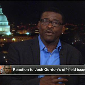 Michael Irvin on Cleveland Browns wide receiver Josh Gordon's off-field issues: 'It's sad to see this situation'