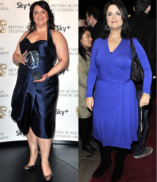 Ruth Jones weight loss: After years of failing at faddy diets the Gavin & Stacey star went on to lose four and a half stone by counting the calories. It's taken her nearly two years to slim but it's c