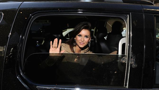 2013 Met Gala Guests Depart For Gala Via Cadillac Valet Service