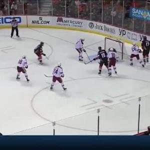 Mike Smith Save on Patrick Maroon (06:16/1st)