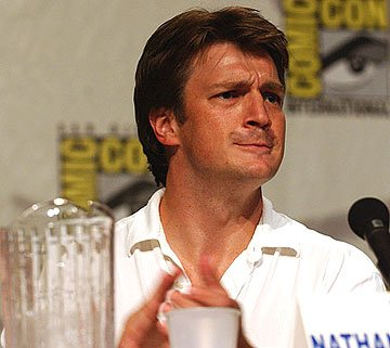Nathan Fillion of Serenity