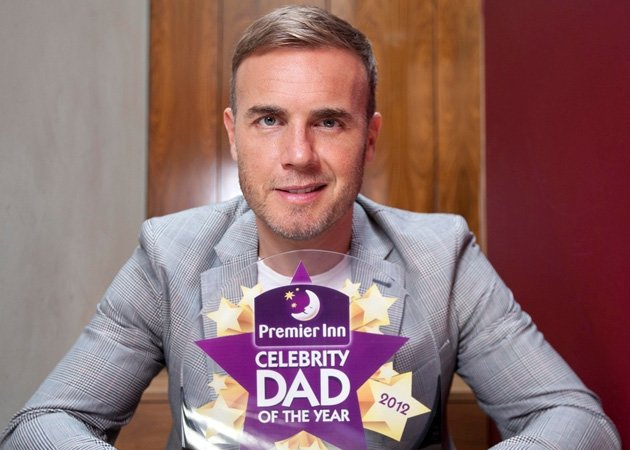 Gary Barlow, Celebrity Dad of the Year 2012
