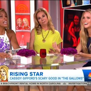 Kathie Lee Gifford Interviews Her Stunning Daughter on 'Today'