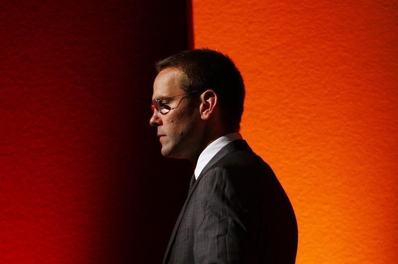 With a prince's backing, James Murdoch may soon ascend at Fox