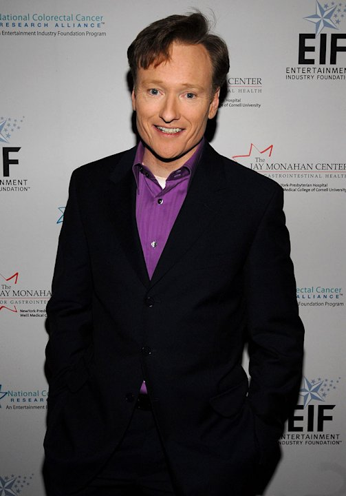 "Conan O'Brien at the Entertainment Industry Foundation NCCRA ""EIF NCCRA"" Colorectal Cancer Benefit."