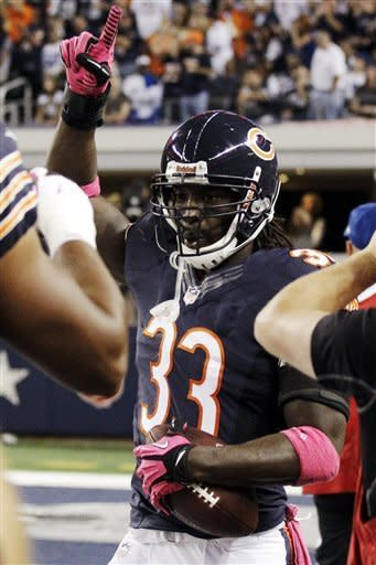 Bears get past Cowboys 34-18 with defense, Cutler