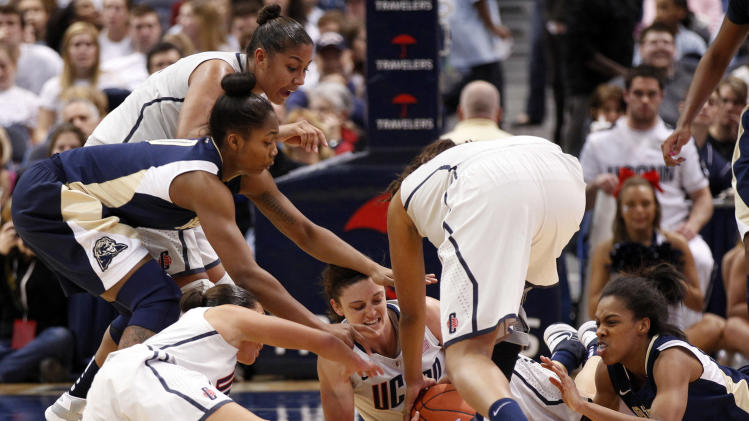 NCAA Womens Basketball: Pittsburgh at Connecticut