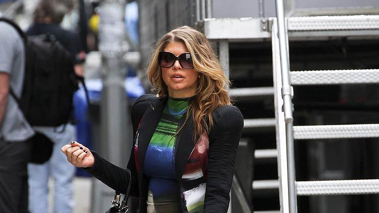 Fergie Out InNYC