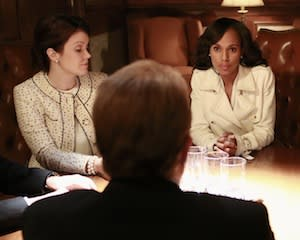 Scandal Video: Members of the 'Quinntet' Start Taking Sides — and [Spoiler] Scores a Date!