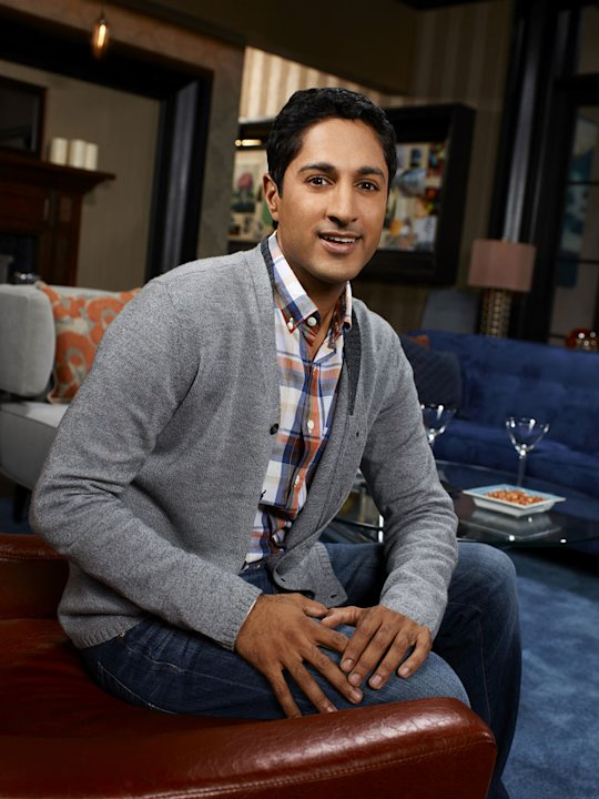 "Maulik Pancholy stars as Neal in ""Whitney."""