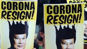 Aquino marshalled his allies in congress to impeach Supreme Court Chief Justice Renato Corona