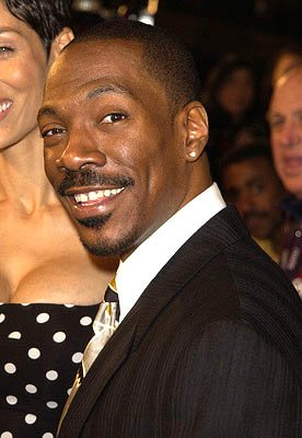 Premiere: Eddie Murphy at the Hollywood premiere of Warner Brothers' Showtime - 3/11/2002 
