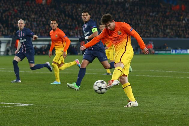 Paris St Germain v Barcelona - UEFA Champions League Quarter Final