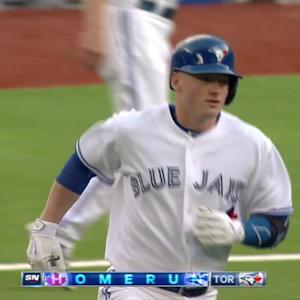 Donaldson walks off on big day