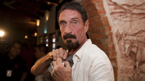 John McAfee Wants to Come Home