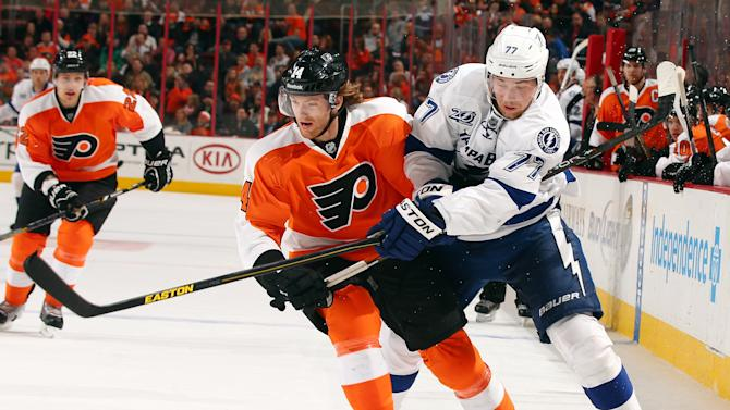 Tampa Bay Lightning v Philadelphia Flyers