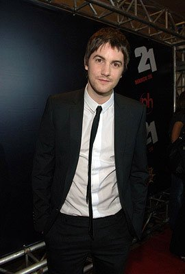 Jim Sturgess at the Las Vegas premiere of Columbia Pictures' 21
