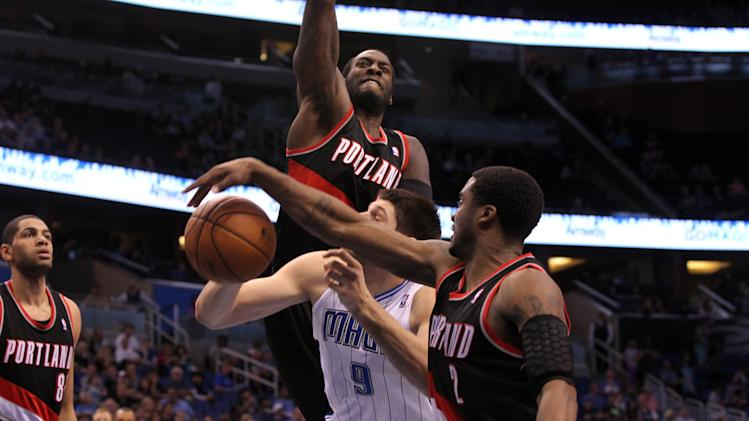 NBA: Portland Trail Blazers at Orlando Magic