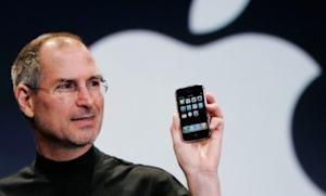 Steve Jobs debuts the iPhone in 2007: A year after his death, the innovator continues to be compared to history's greatest innovators and leaders.