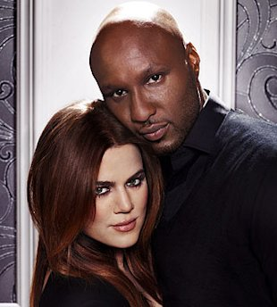 Khloe y Lamar Odom via E Entertainment